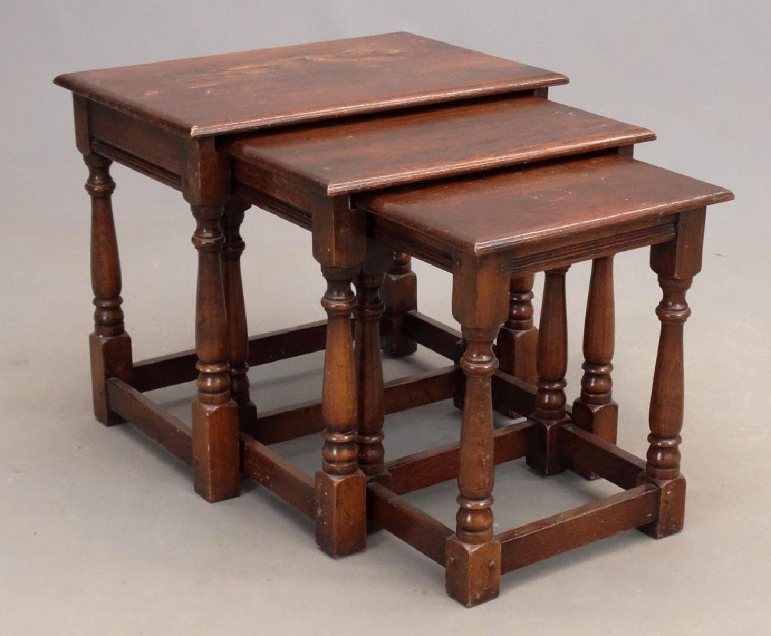 Jacobean Style Nesting Tables