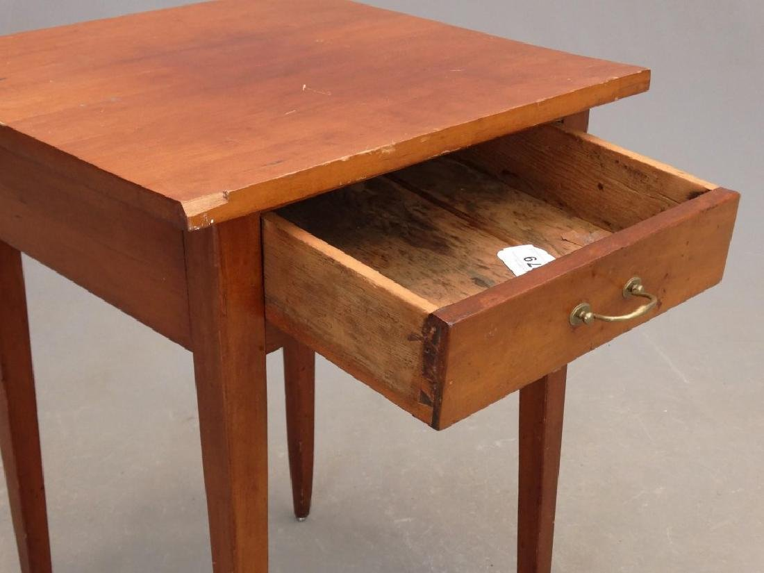19th c. Single Drawer Stand - 4