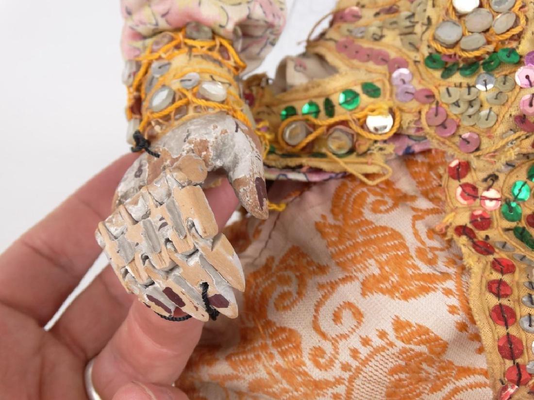 Thai Or Burmese Articulation Puppet - 4