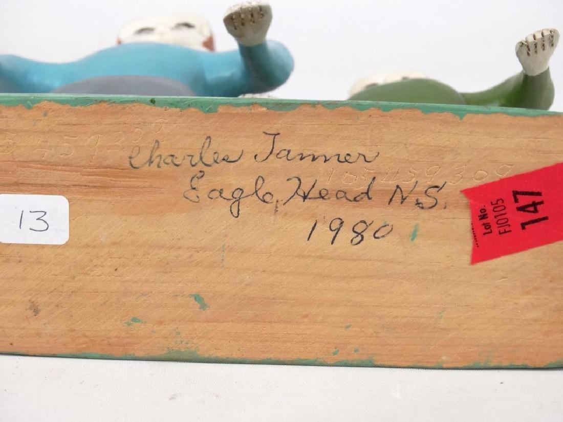 Charles Tanner Nova Scotia Folk Art - 4