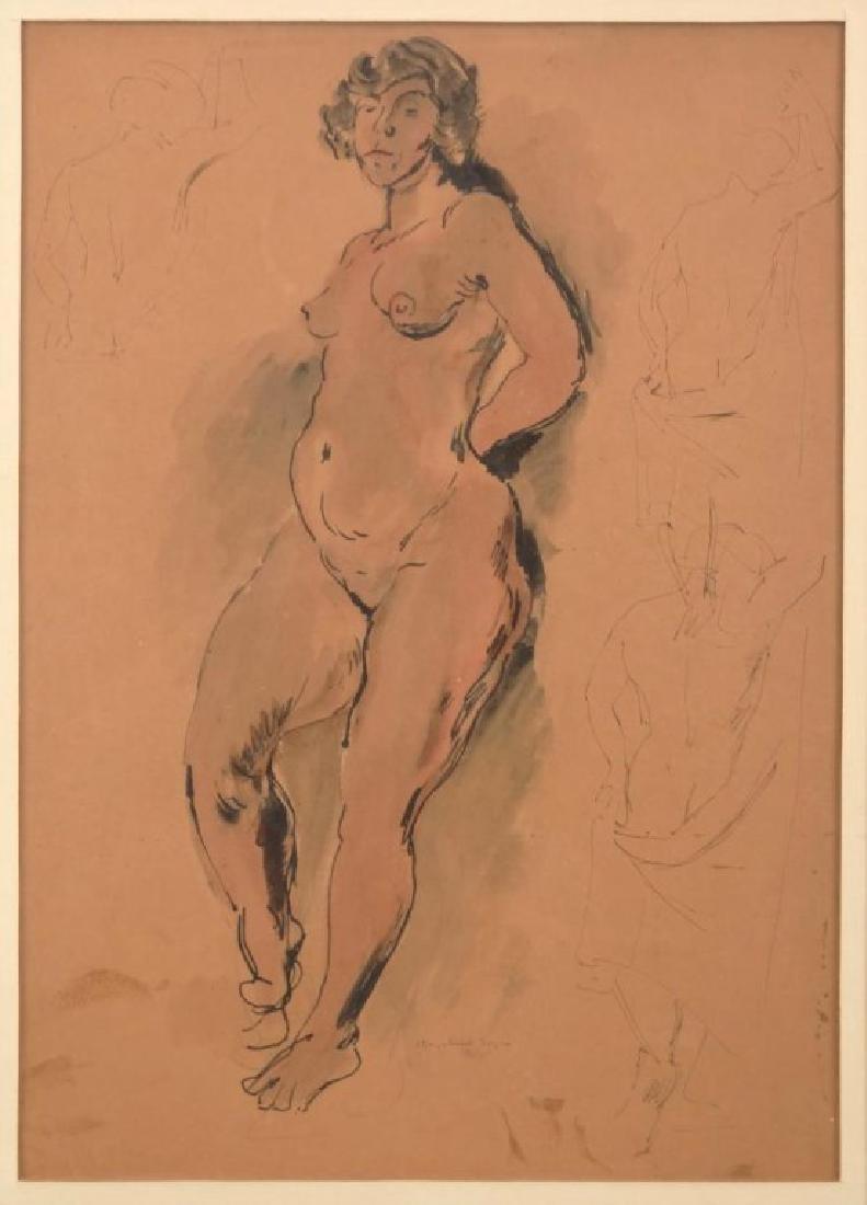 Raphael Soyer (N.Y. 1899-1987) - 2