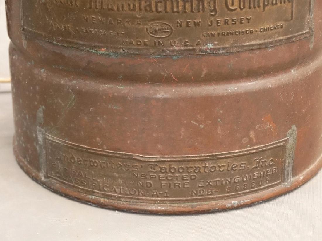 Vintage Fire Extinguisher Lamp - 3