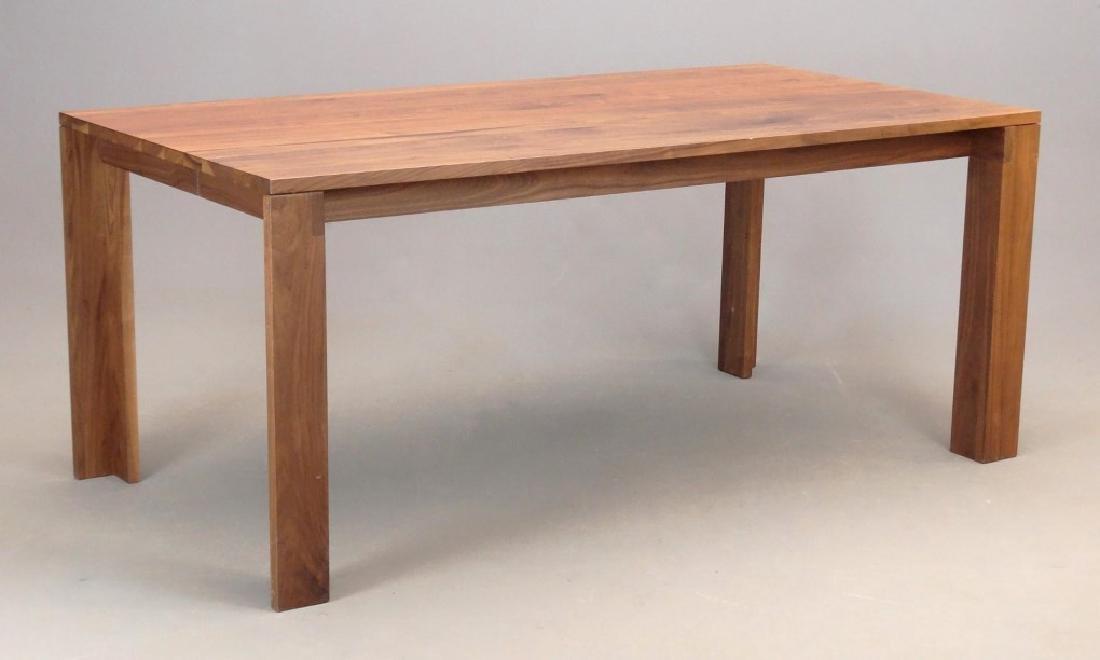 Modern Walnut Dining Table