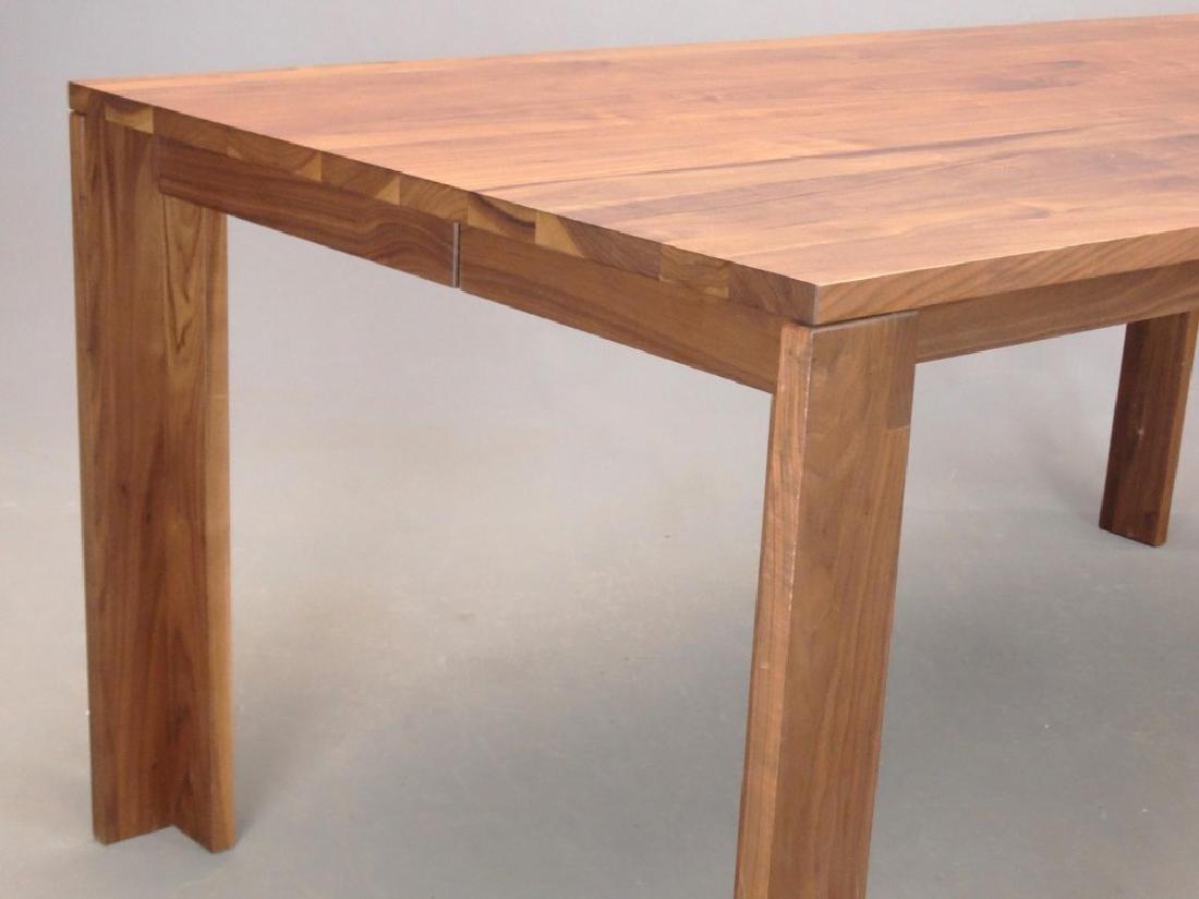 Modern Walnut Dining Table - 3