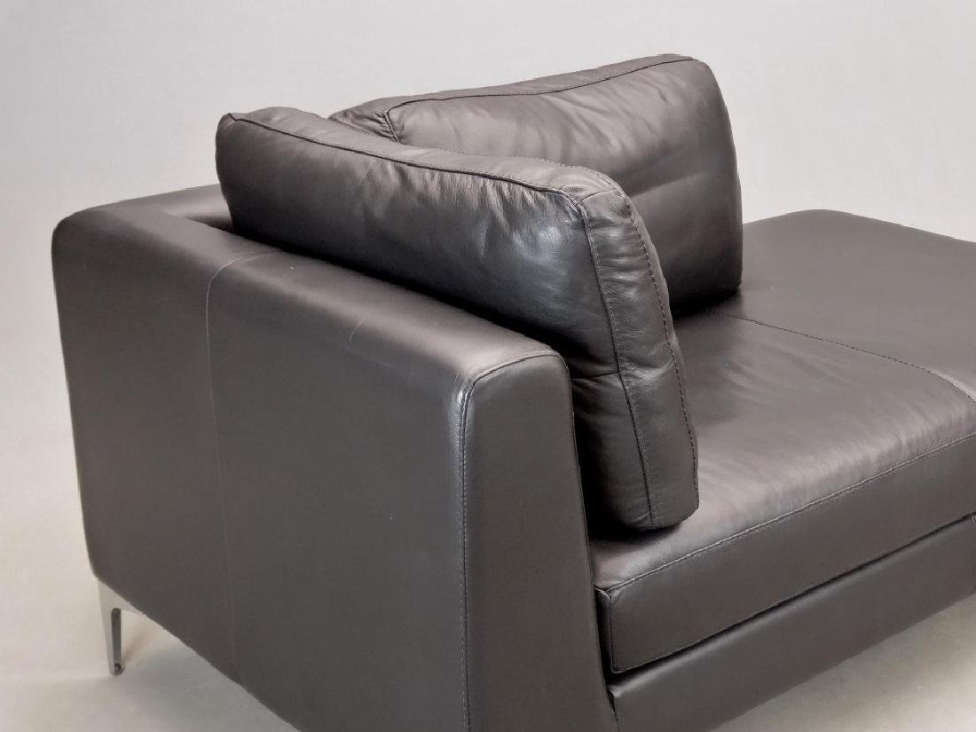 Modern Leather Sofa - 2