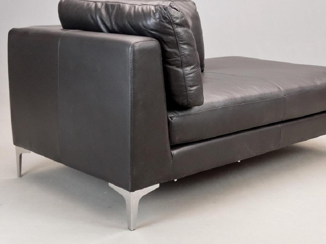 Modern Leather Sofa - 3