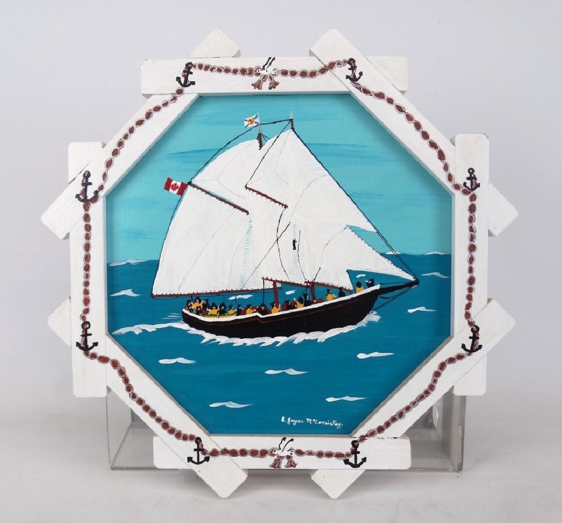 E. Joyce McComiskey Nova Scotia Folk Art