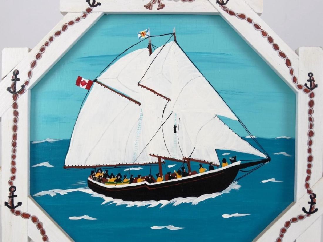 E. Joyce McComiskey Nova Scotia Folk Art - 2