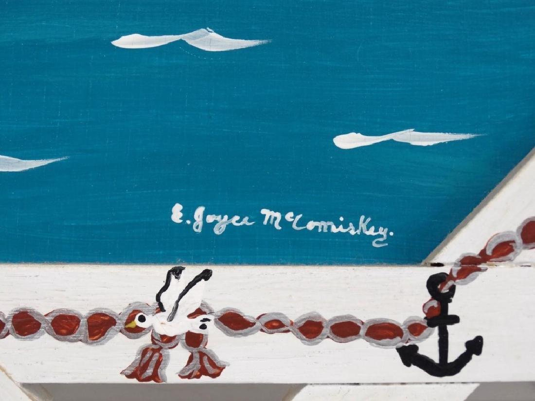 E. Joyce McComiskey Nova Scotia Folk Art - 3