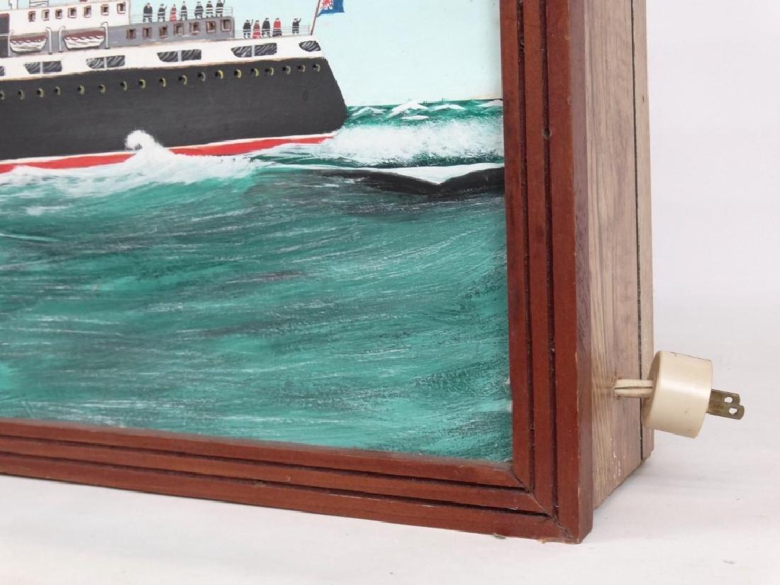 Nova Scotia Folk Art Light Box - 2