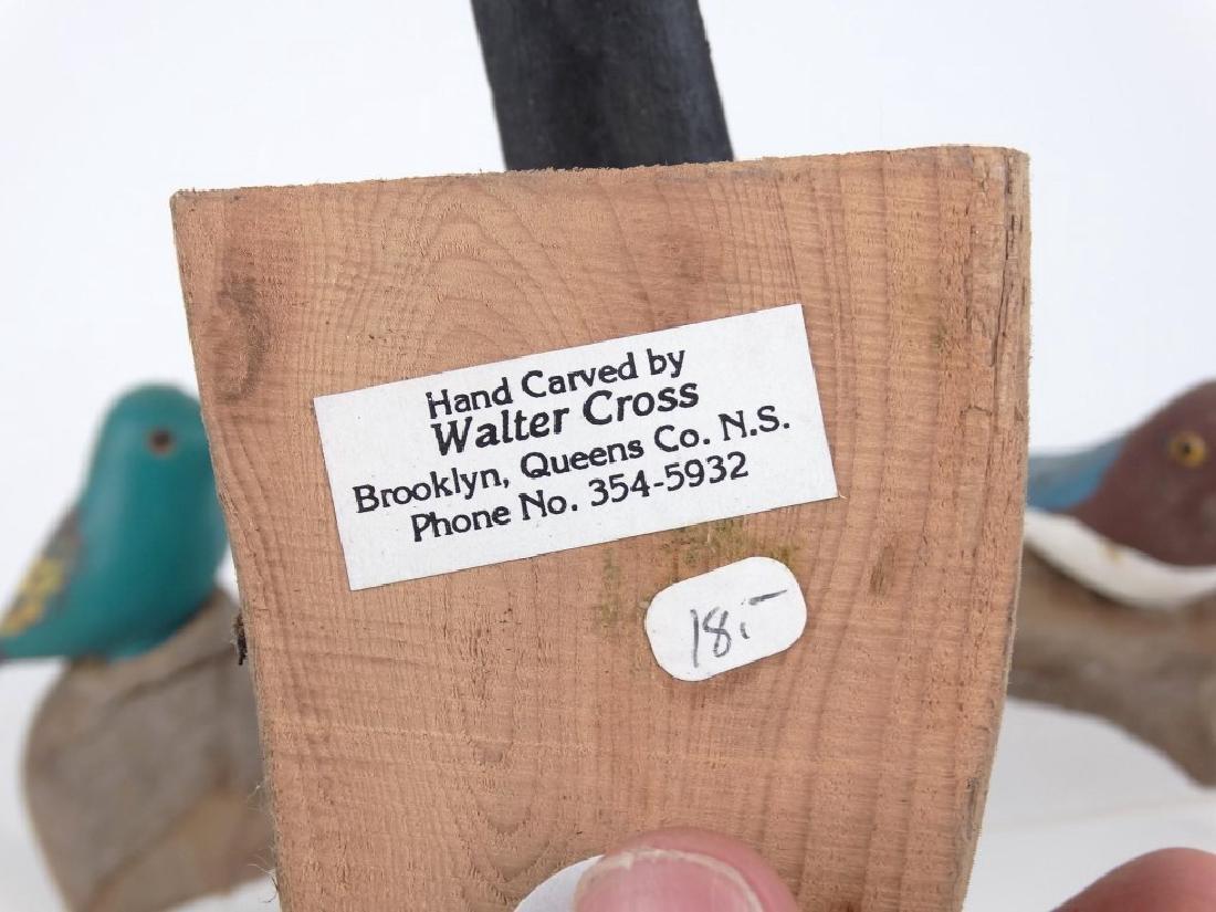 Walter Cross Nova Scotia Bird Carvings - 4