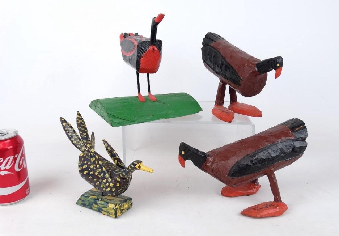Leo Naugler Nova Scotia Folk Art Birds
