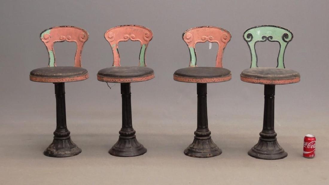 Vintage Parlor Stools