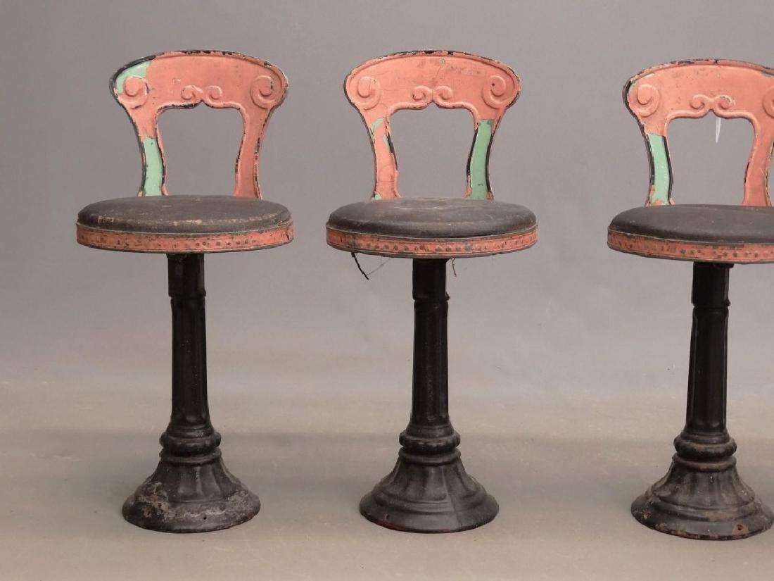 Vintage Parlor Stools - 2