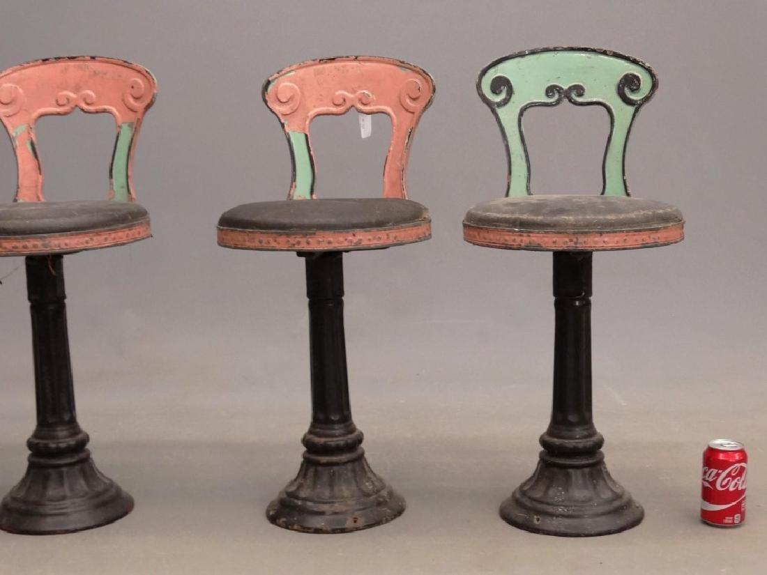 Vintage Parlor Stools - 3