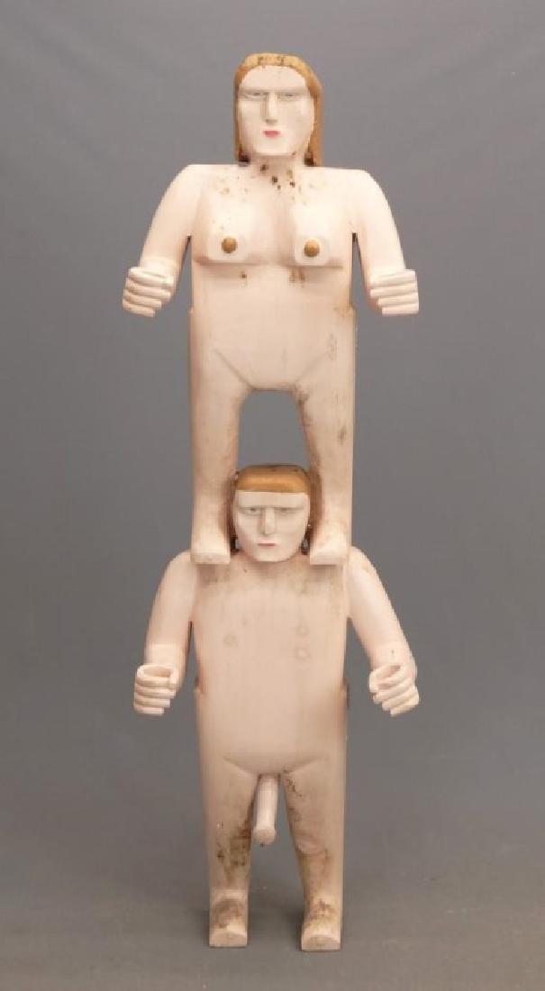 Nova Scotia Folk Art Figure - 2