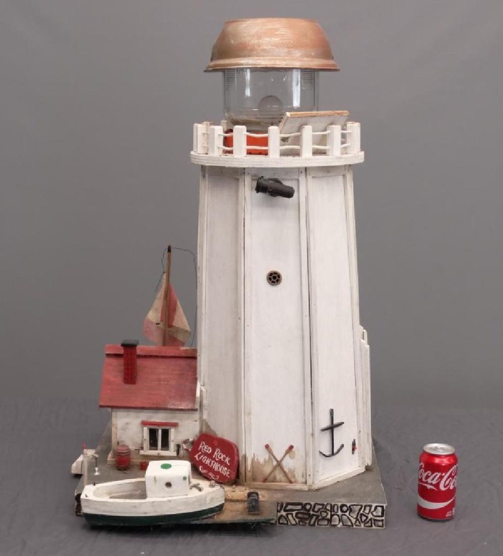 Nova Scotia Folk Art Lighthouse