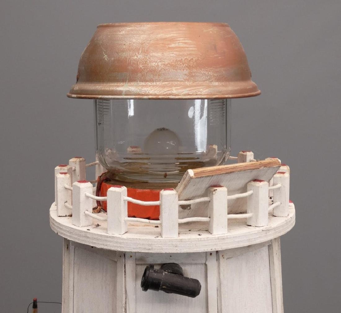 Nova Scotia Folk Art Lighthouse - 2