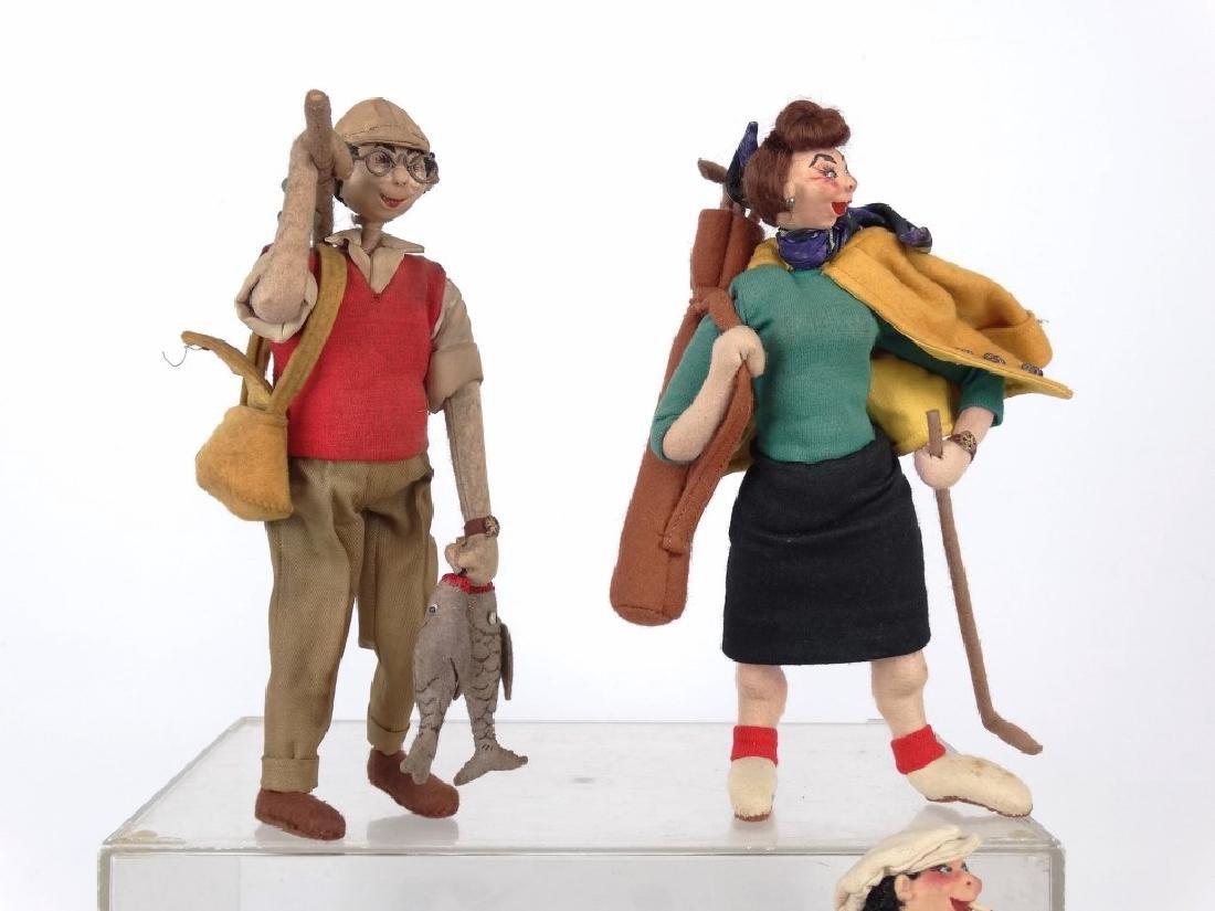 Folk Art Figures - 2