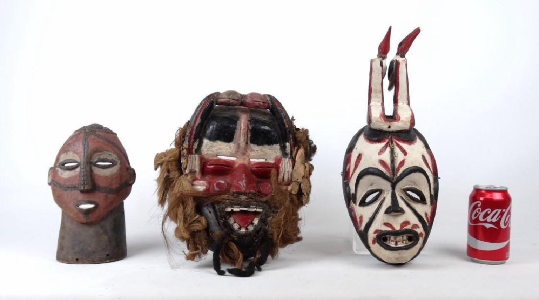 Carved African Masks