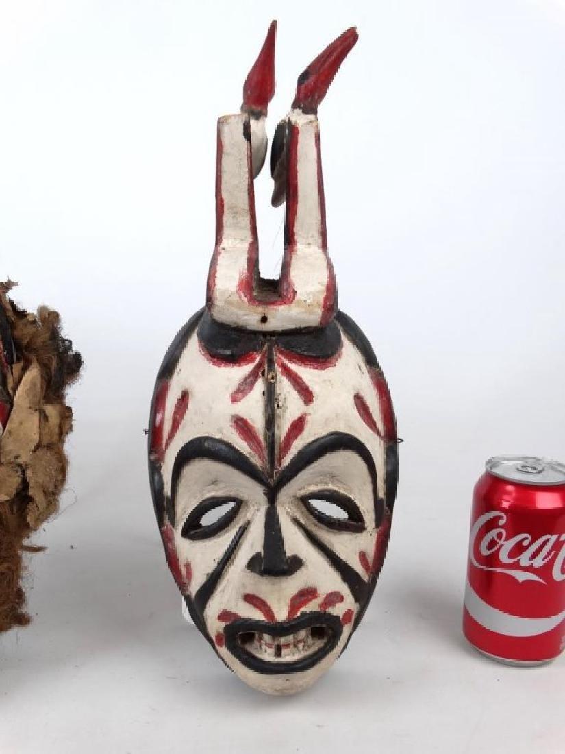 Carved African Masks - 2
