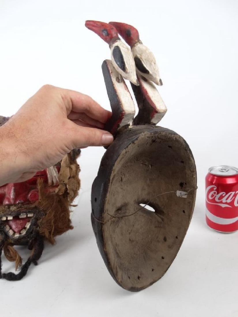 Carved African Masks - 4