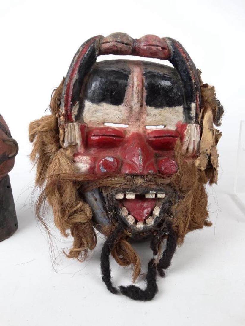 Carved African Masks - 5