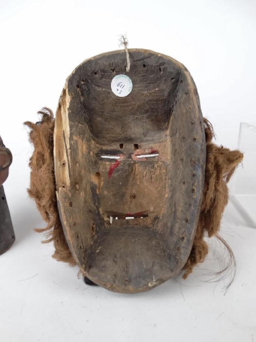 Carved African Masks - 6