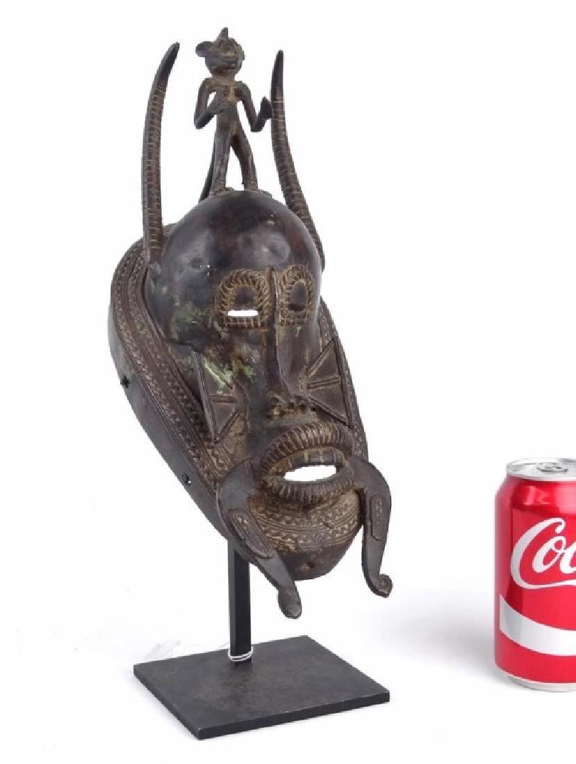 African Bronze Mask