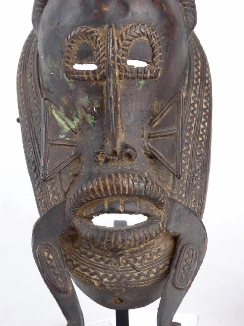 African Bronze Mask - 5