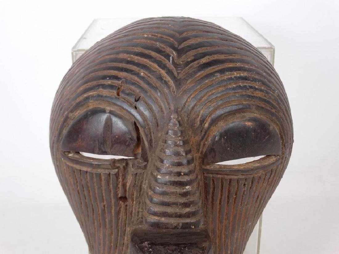 Carved African Mask - 2