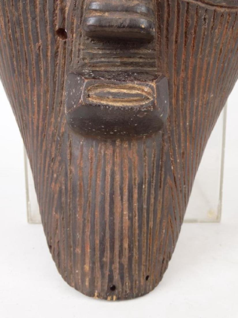 Carved African Mask - 3