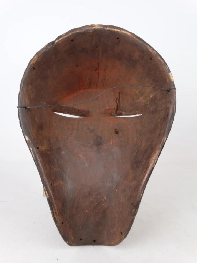 Carved African Mask - 4