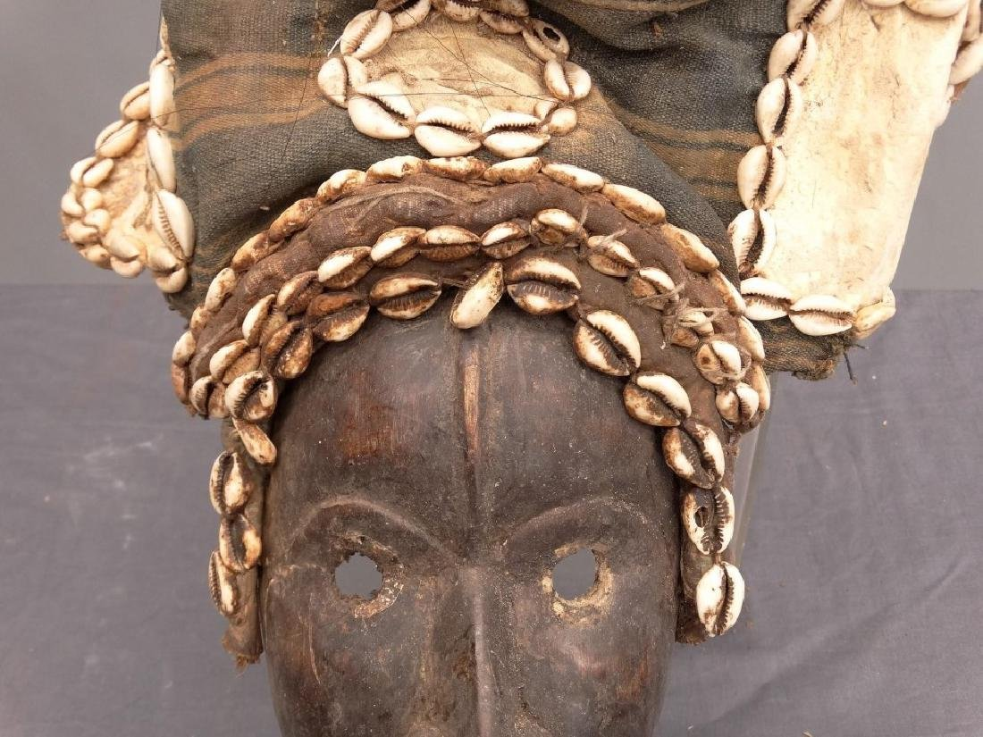 African Carved Mask - 3