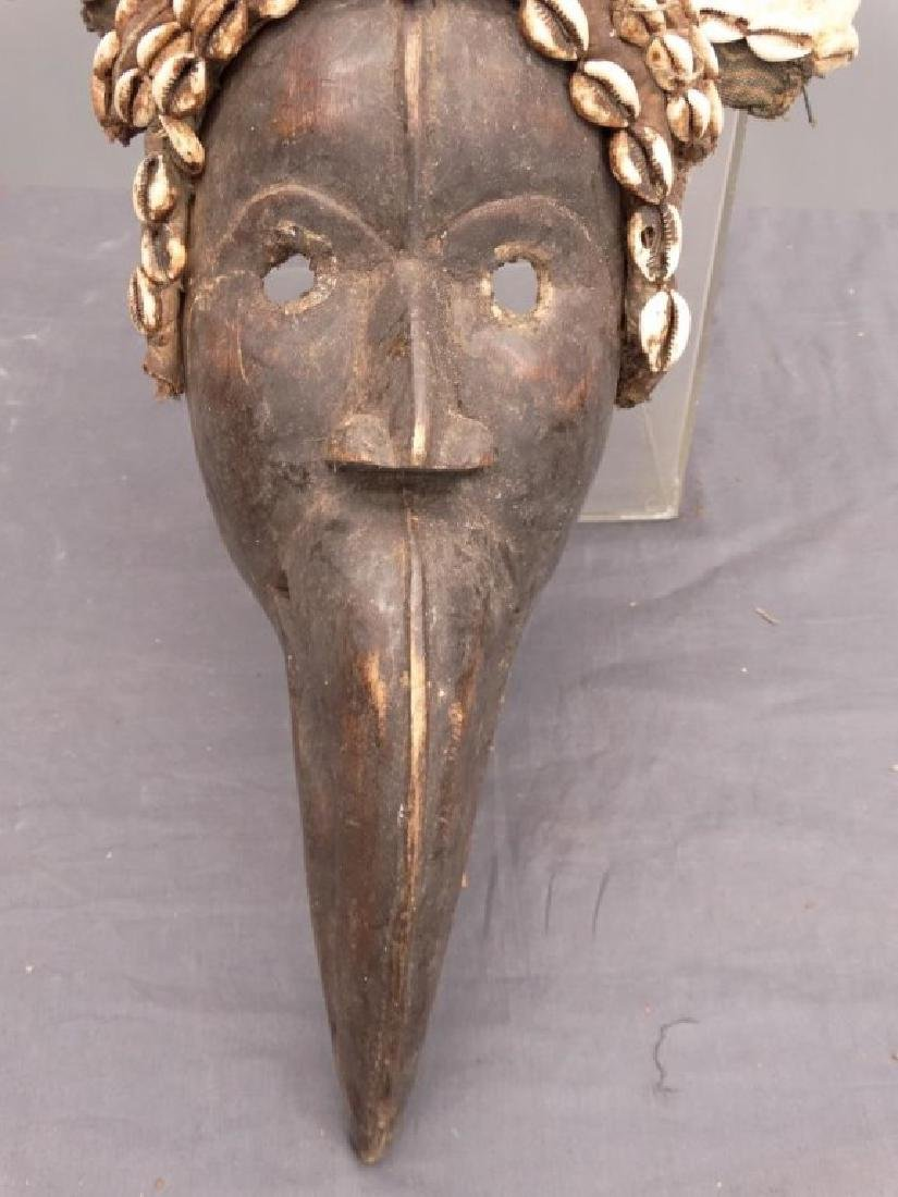 African Carved Mask - 4