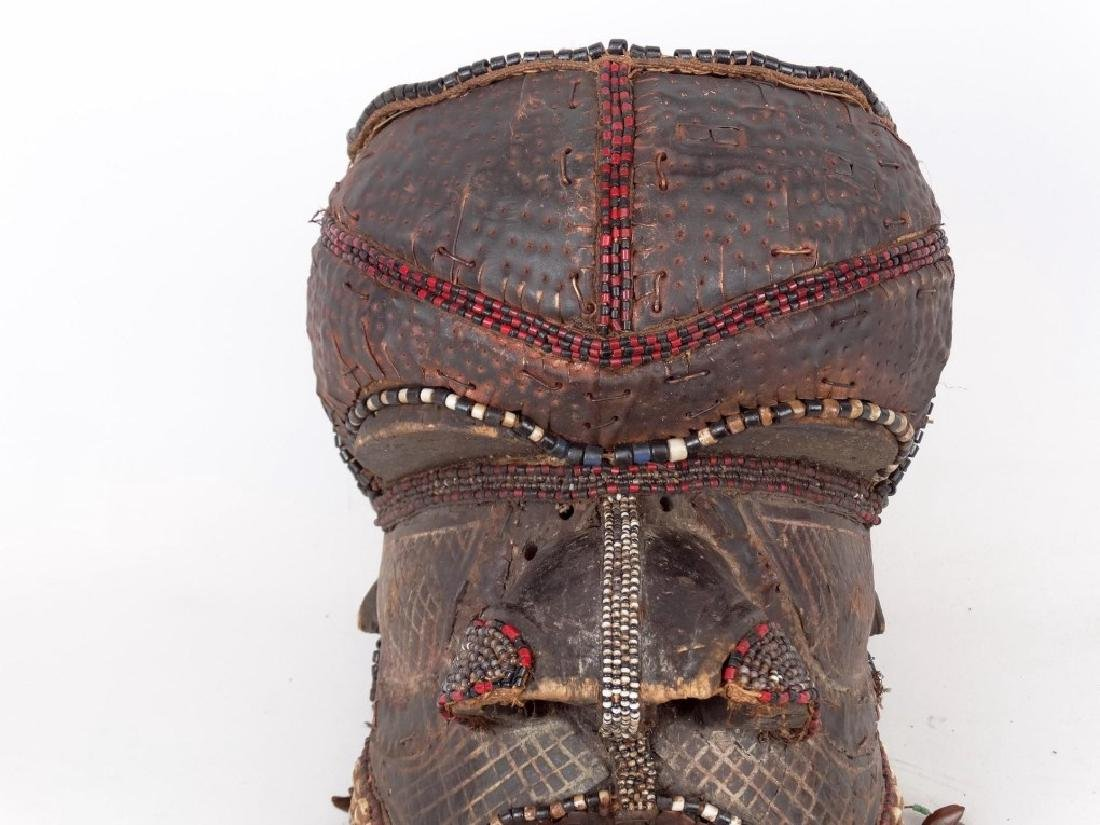 African Carved Mask - 3