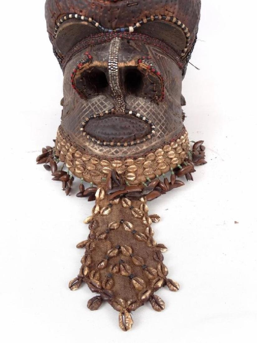 African Carved Mask - 4