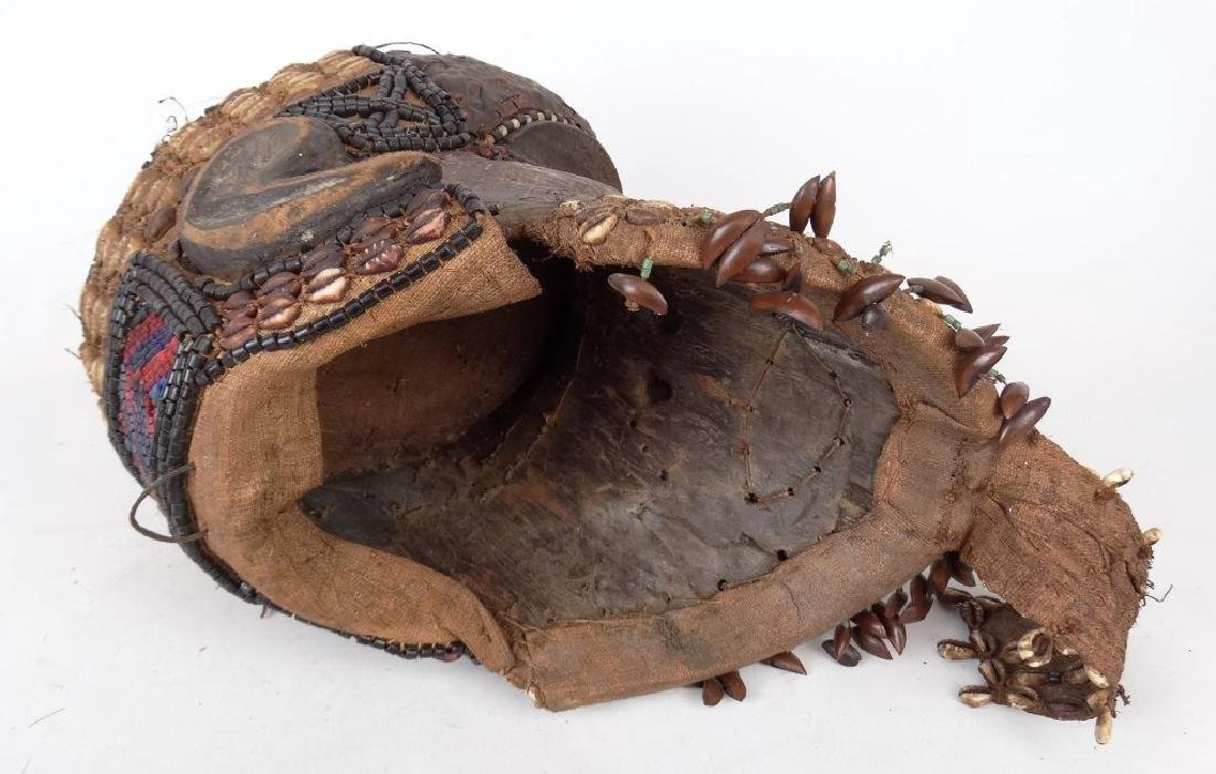 African Carved Mask - 7