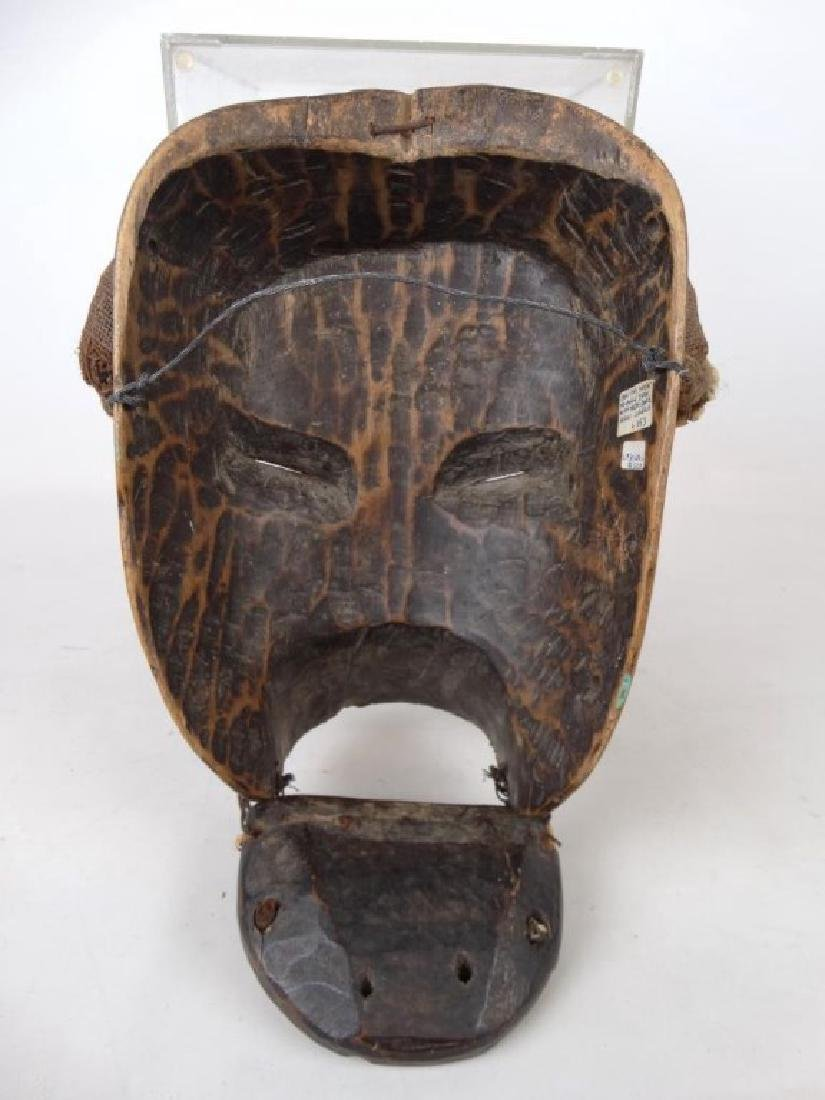African Carved Mask - 5