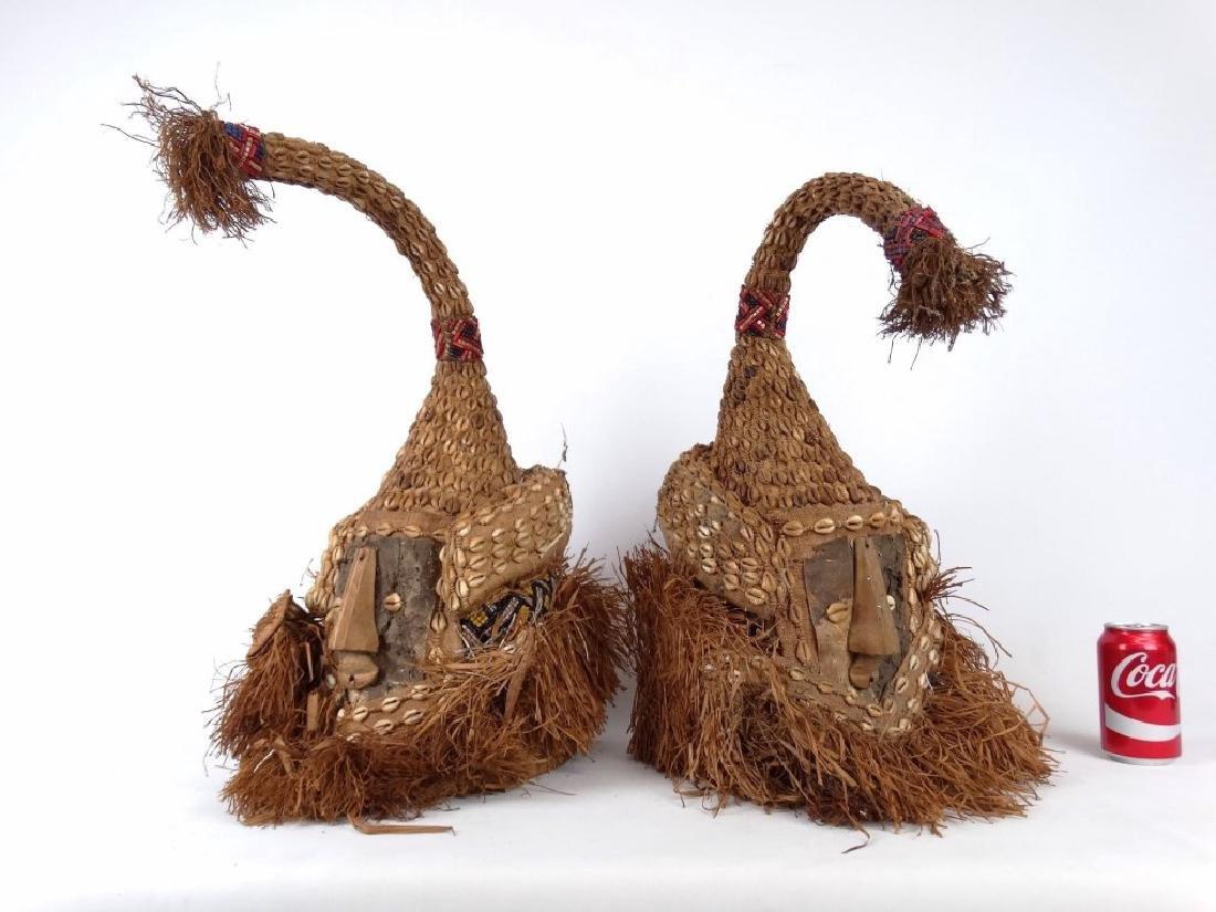 African Ceremonial Helmets