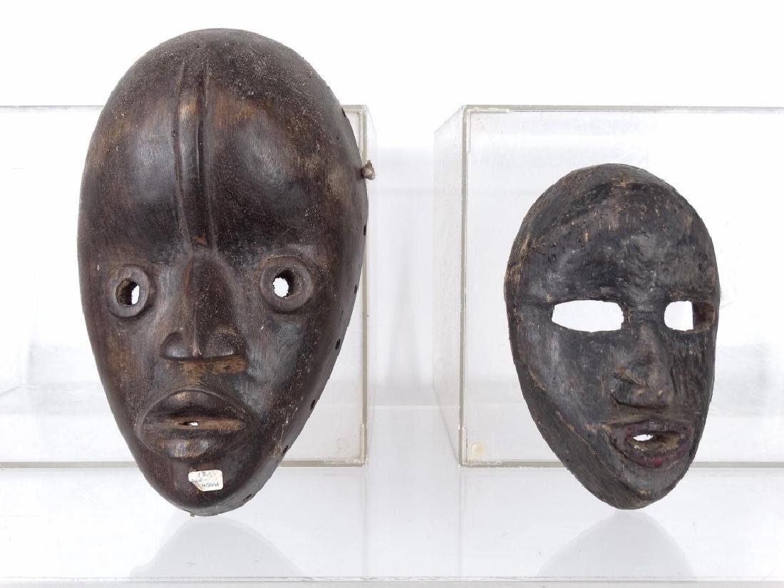 African Carved Masks - 2
