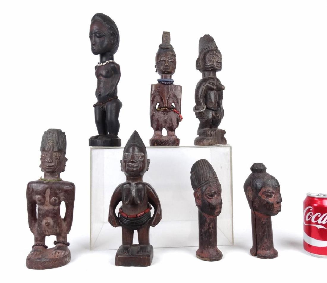 African Carved Figures