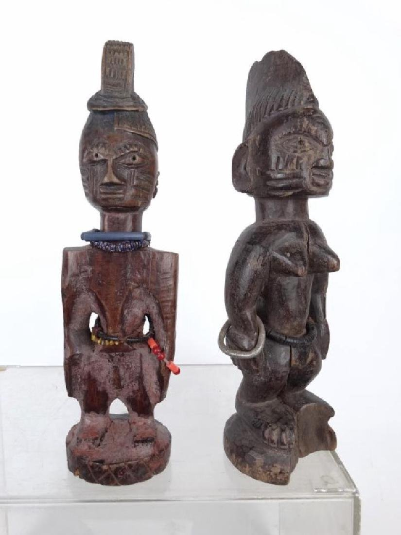 African Carved Figures - 2
