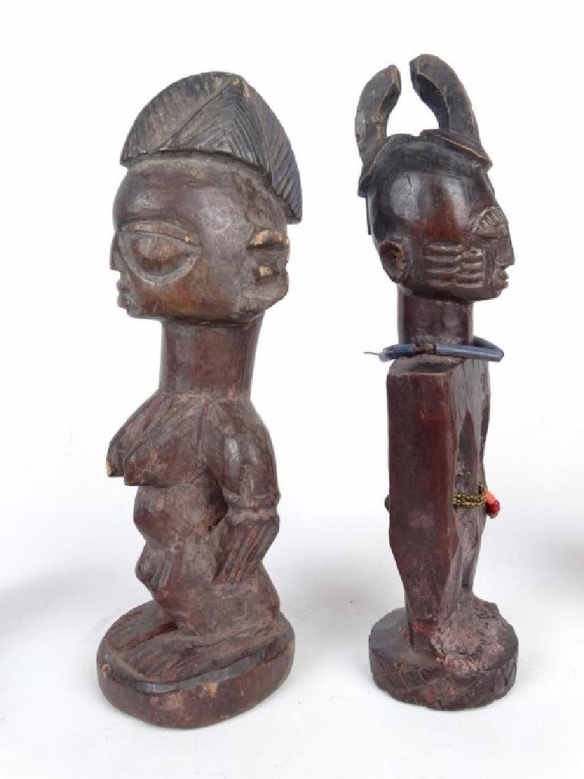 African Carved Figures - 6