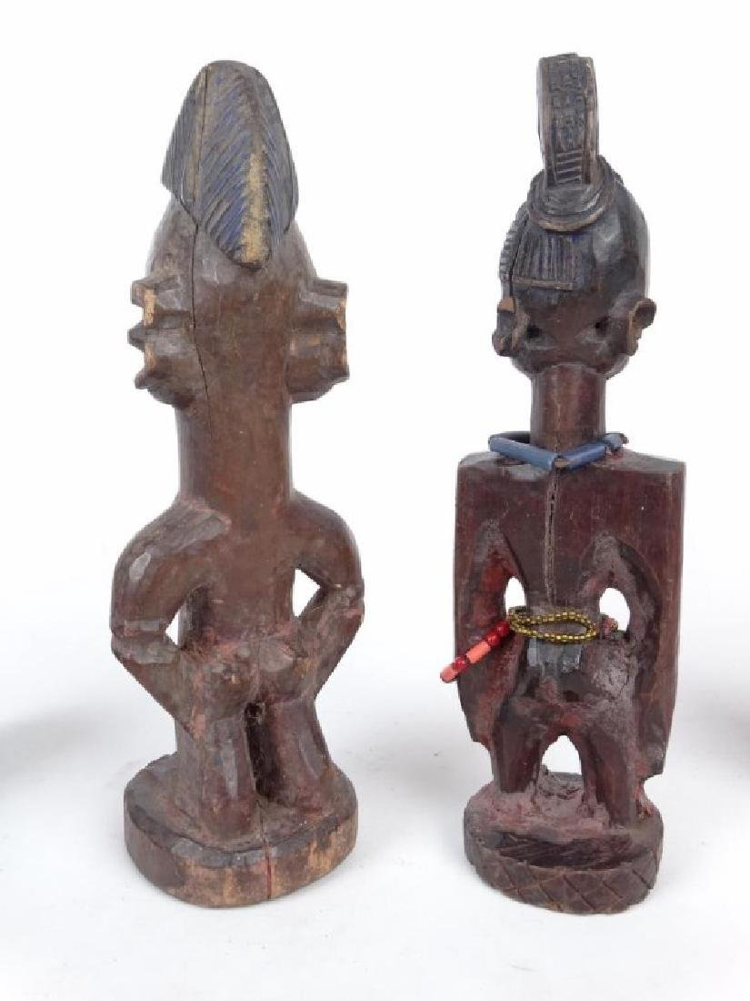 African Carved Figures - 7