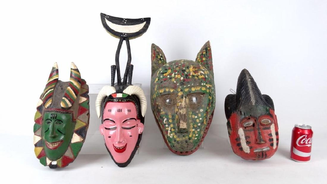 Carved Wooden Masks