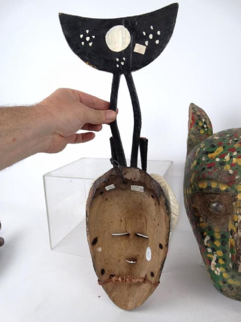 Carved Wooden Masks - 5