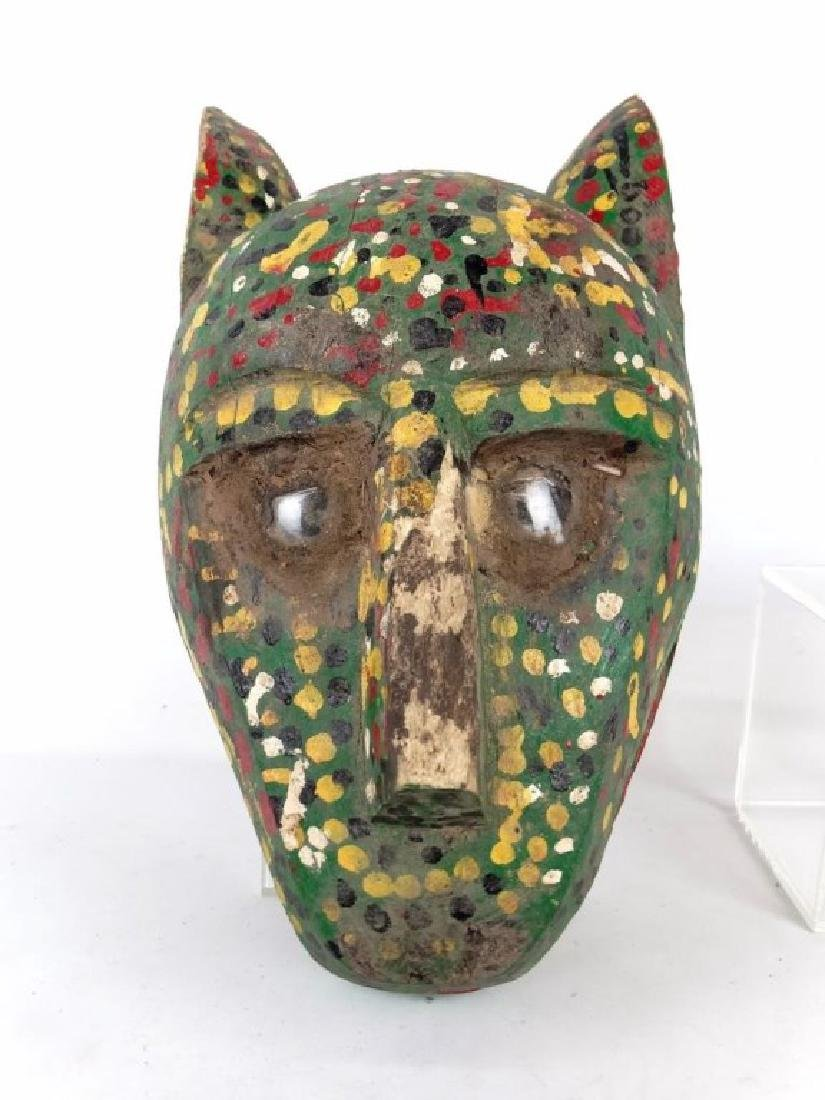 Carved Wooden Masks - 9