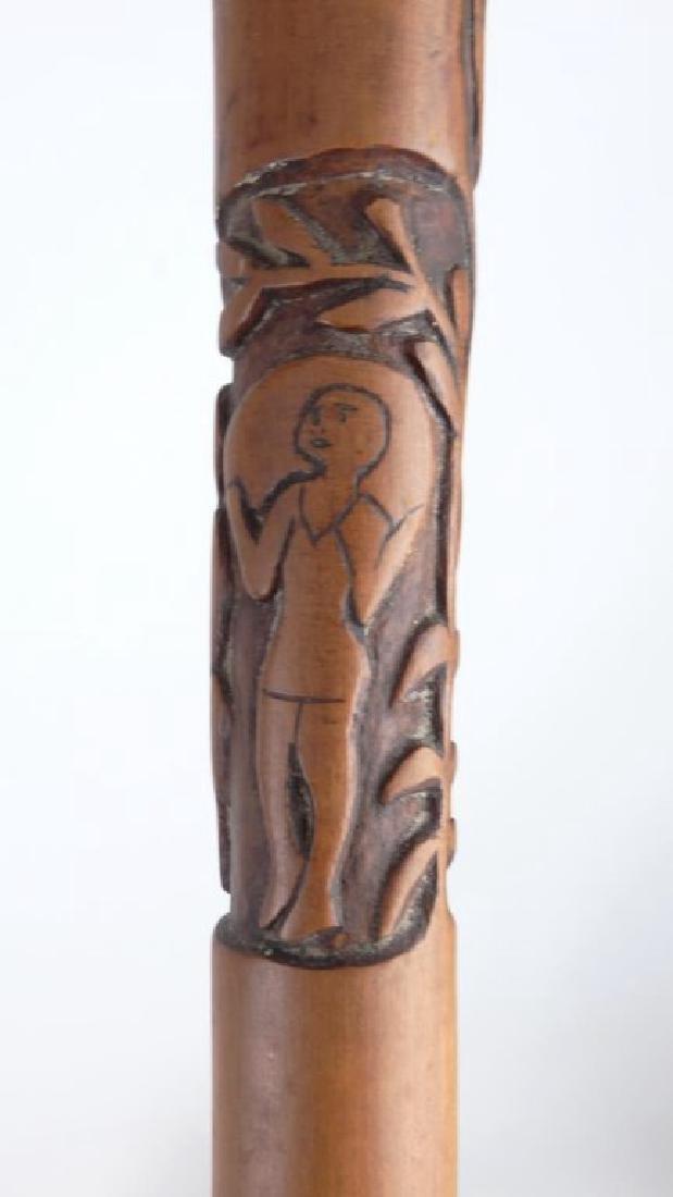 Folk Art Cane - 4