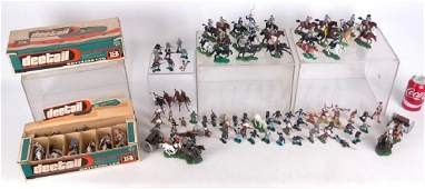 Collection Of Britains Toy Soldiers